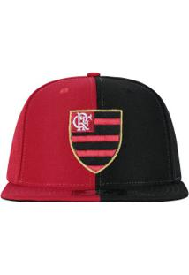 Boné Aba Reta Do Flamengo 6G Logo Bicolor 03 Starter - Snapback - Adulto -  Preto d32ca1f240c