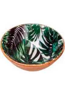 Saladeira Palmeira Verde 10X24X24 Cm