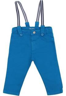Calça Color Babypre - Masculino-Azul
