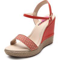f65a100893 Sandália Espadrille Moleca feminina   Shoes4you