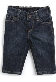 Calã§A Jeans Gap Infantil Lisa Azul-Marinho - Azul Marinho - Menino - Algodã£O - Dafiti