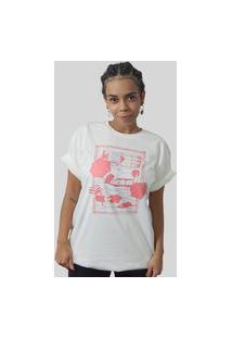 Camiseta Quimera Beira Mar Off White