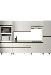 Cozinha Completa 100% Mdf Lovere K111 Off White