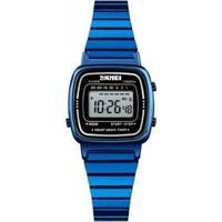 7031a59a667 Relógio Skmei Digital - Feminino-Azul