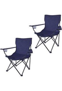 Kit 2 Cadeiras Alvorada Desmontável Nautika 290380 - Unissex