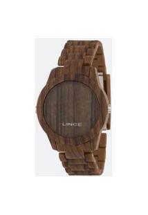 Relógio Unissex Lince Mdp4614P-Bxnx Digital 5Atm | Lince | Marrom | U