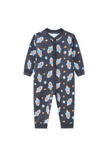Pijama Infantil Menino Kyly Cinza