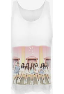 Camiseta Cropped Nerderia Kpop Sonamoo Coreanas Branca