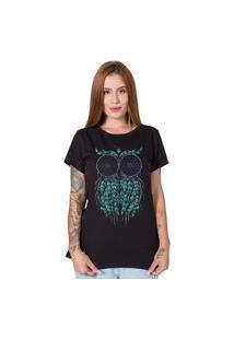 Camiseta Stoned Owl Preto
