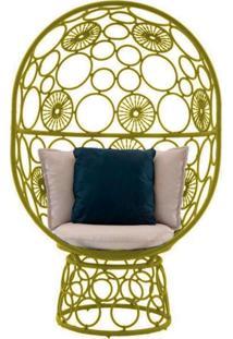 Cadeira De Corda Pina Amarela - Incolor - Dafiti