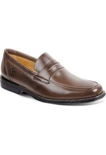 Sapato Em Couro Monte Carlo 17602 - Masculino