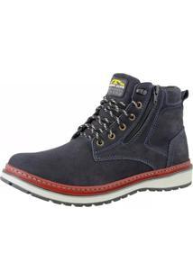 Bota Casual Urbana Bell Boots Azul Marinho 835