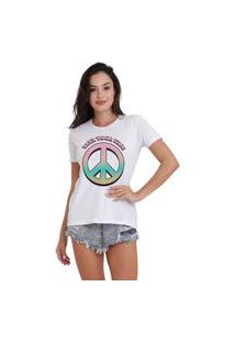 Camiseta Jay Jay Basica Take Your Time Branca Dtg