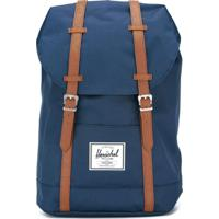 c47c6dfff Farfetch. Herschel Supply Co. Mochila Jeans - Azul