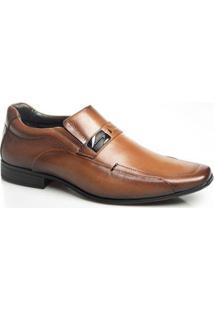 Sapato Social Couro Rafarillo Masculino Amortecedor Conforto - Masculino