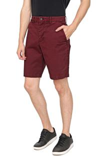 Bermuda Sarja Gap Chino Color Vinho