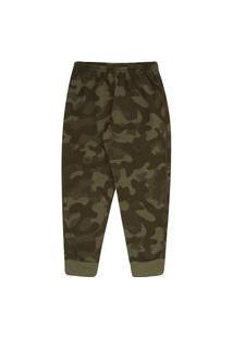 Calça Sublimado Mescla Militar - Primeiros Passos - Menino Moletom 45361-1167 Calca Verde - Primeiros Passos Menino Moletom Ref:45361-1167-2