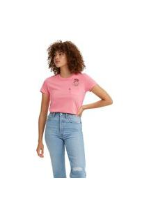 Camiseta Levi'S Perfect Pocket - 50155 Rosa