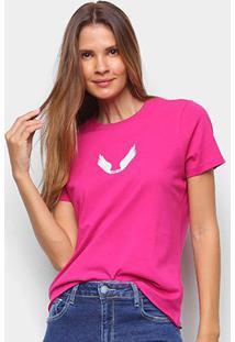 Camiseta Ellus Asas Feminina - Feminino