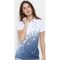 2a0ab4f6d5 Camisa Polo Cruzeiro Shadow Feminina - Feminino