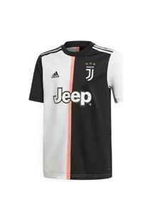 Camisa Adidas Juventus I Dw5453 Infantil Preto