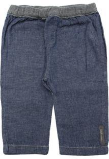 Calça Jeans Green Menino Lisa Azul