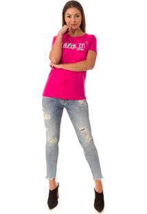 Camiseta Opera Rock T-Shirt Pink - Kanui
