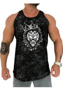 Regata Longline Mxd Conceito Lion King Masculina - Masculino