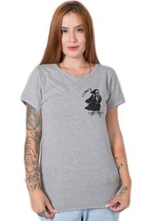 Camiseta Skate Death Cinza Stoned