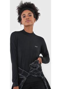 Camiseta Volcom Recocmmended Preta - Preto - Feminino - Dafiti
