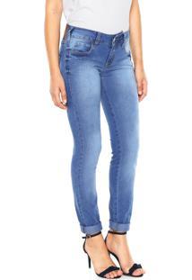 1b53e0b56 Dafiti Sports. Calça Jeans Colcci Skinny Katy Azul