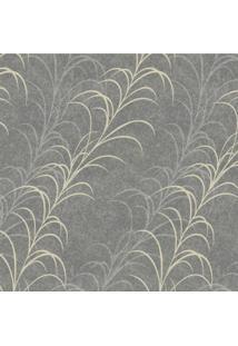 Papel De Parede Stickdecor Adesivo Floral Cinza