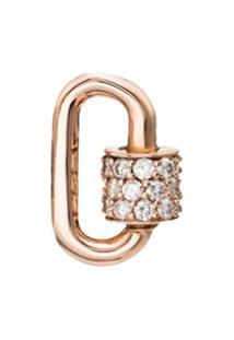 Marla Aaron Pingente Em Ouro Rosé Com Diamante - Metallic