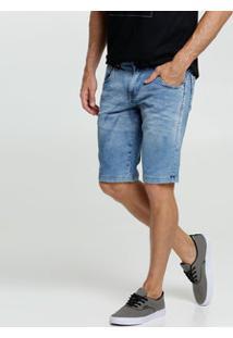 Bermuda Masculina Jeans Bolsos Rock & Soda
