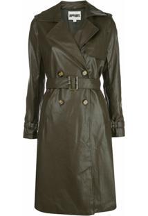 Apparis Trench Coat Impermeável Lucia - Hunter Green