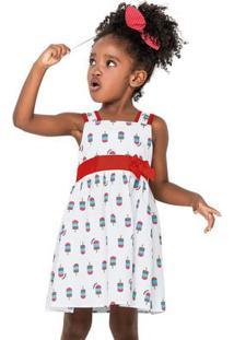 Vestido Infantil Nanai Tricoline 600013.0001.3