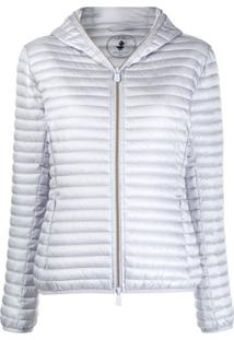 Save The Duck Padded Zip-Up Jacket - Azul