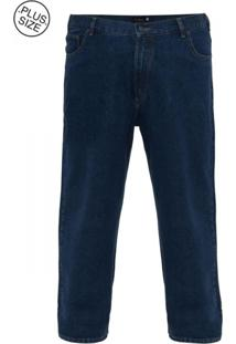 Calça Jeans Plus Size Azul Médio Classic