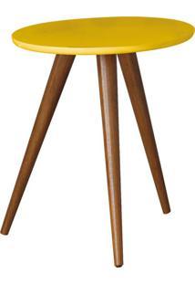 Mesa Lateral Sorelle Amarelo