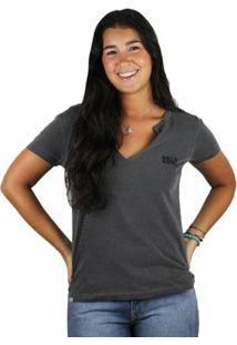 Camiseta Billabong Legacy - Feminino-Cinza