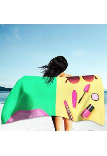 Toalha De Praia / Banho Cosmetic Minimal