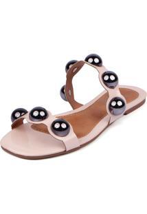 Rasteira Trivalle Shoes Bola Nude