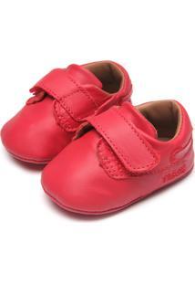 Sapato Tigor T. Tigre Baby Menino Vermelho