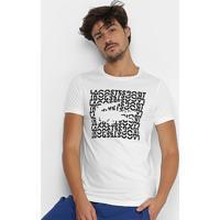 Camiseta Lacoste Casual Logo Masculina - Masculino 81591bd975