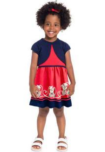 Vestido Menina Vermelho