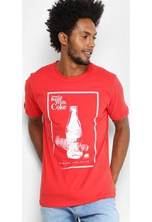 468dfee97 Camiseta Coca-Cola Better With Coke Masculina - Masculino