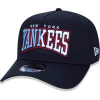 Boné New Era 950 A-Frame Snapback New York Yankees Marinho e9f06fb8997