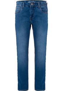 Calça Jeans Five Pockets Skinny - Azul Claro - 4