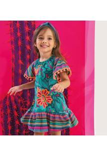 Vestido Infantil Nanai Cambraia 600246.6824.8