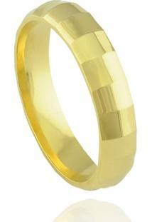 Aliança Neo Joalheiros Casamento Tradicional Em Ouro 18K Milão Unissex - Unissex